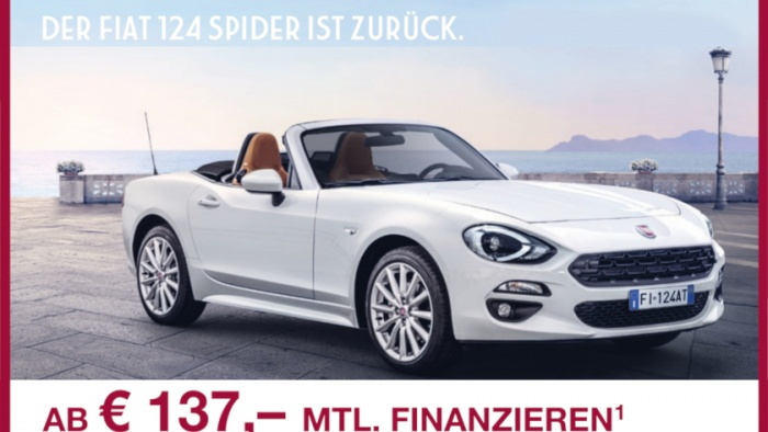 fiat 124 spider autowelt. Black Bedroom Furniture Sets. Home Design Ideas