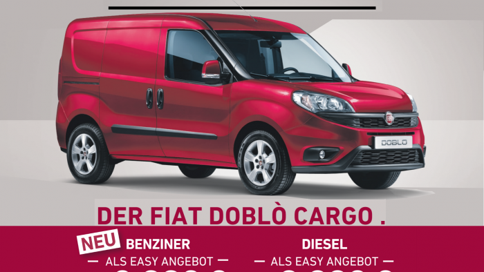Fiat Doblo Cargo Nutzsparzeuge! Easy Fahren. Easy Sparen.